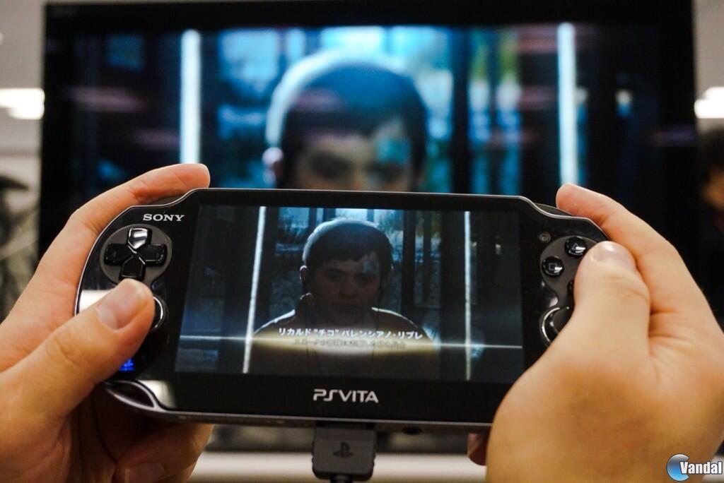 Kojima muestra el juego remoto en PS Vita de Metal Gear Solid V: Ground Zeroes