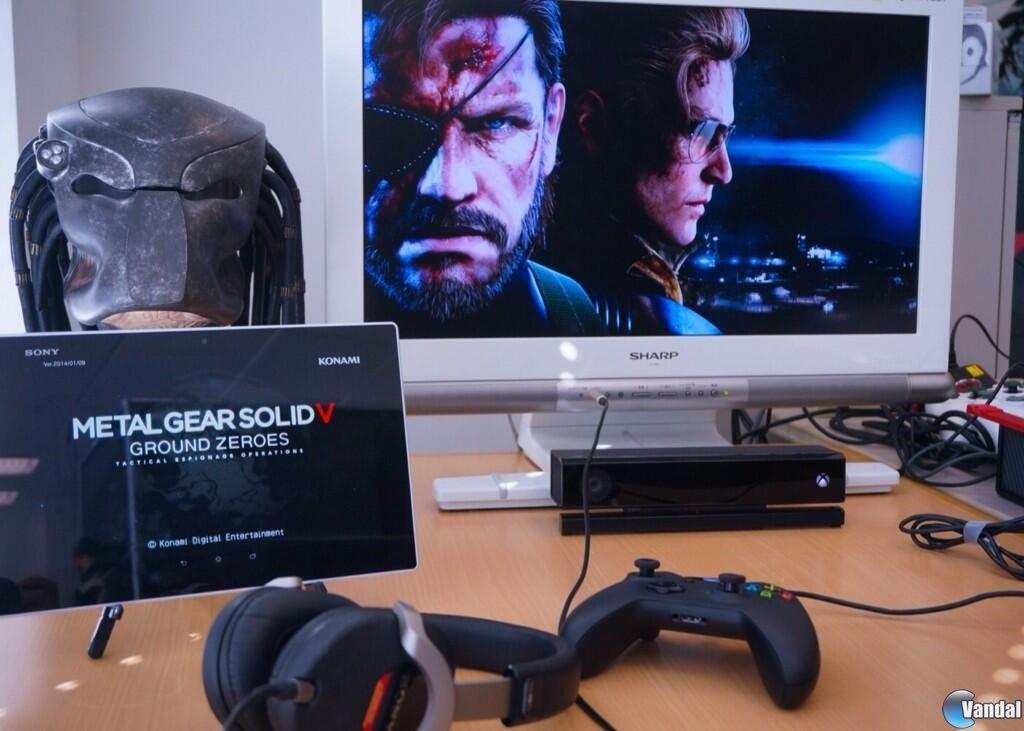 Kojima muestra el uso de Smartglass en Metal Gear Solid V: Ground Zeroes