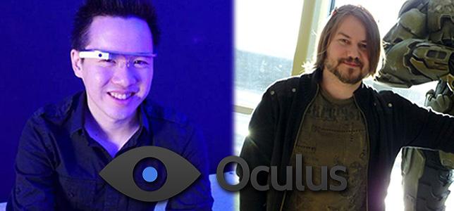 Oculus VR ficha al ingeniero eléctrico jefe de Google Glass y al director de arte de Halo 4
