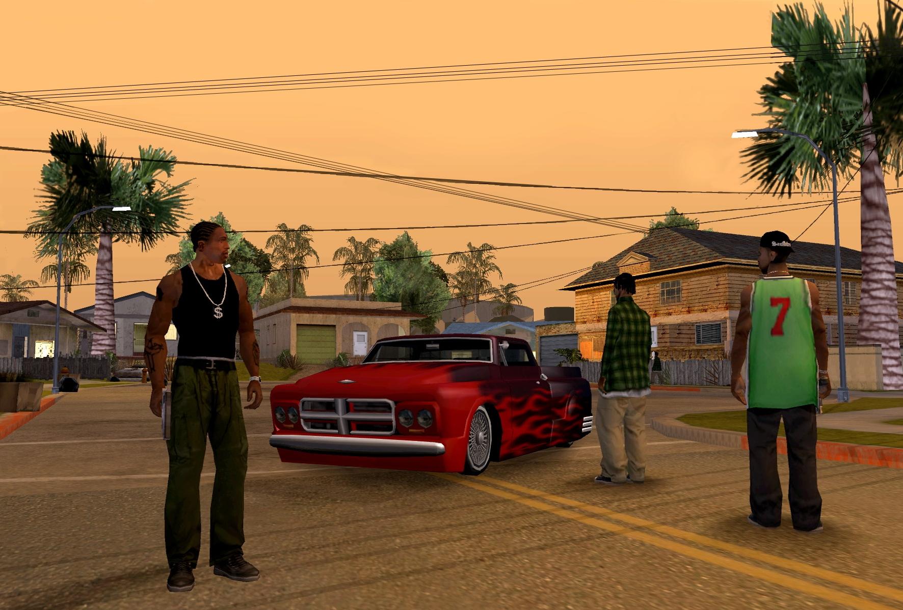 El Nuevo Gta San Andreas Hd De Xbox 360 Es Un Port De La Version