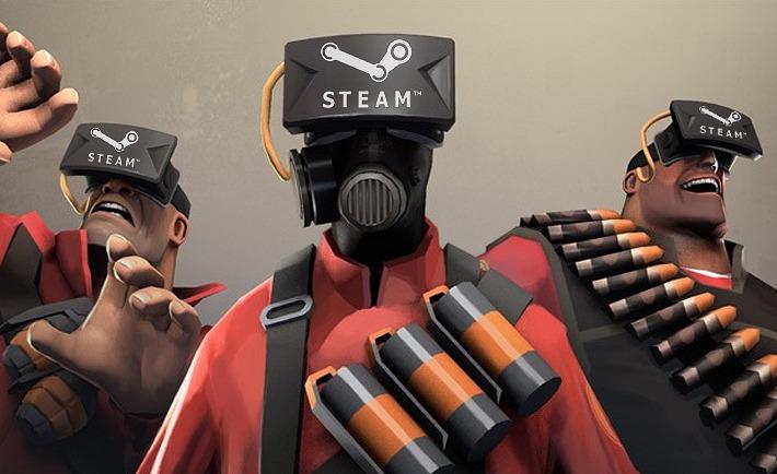 La realidad virtual en Steam