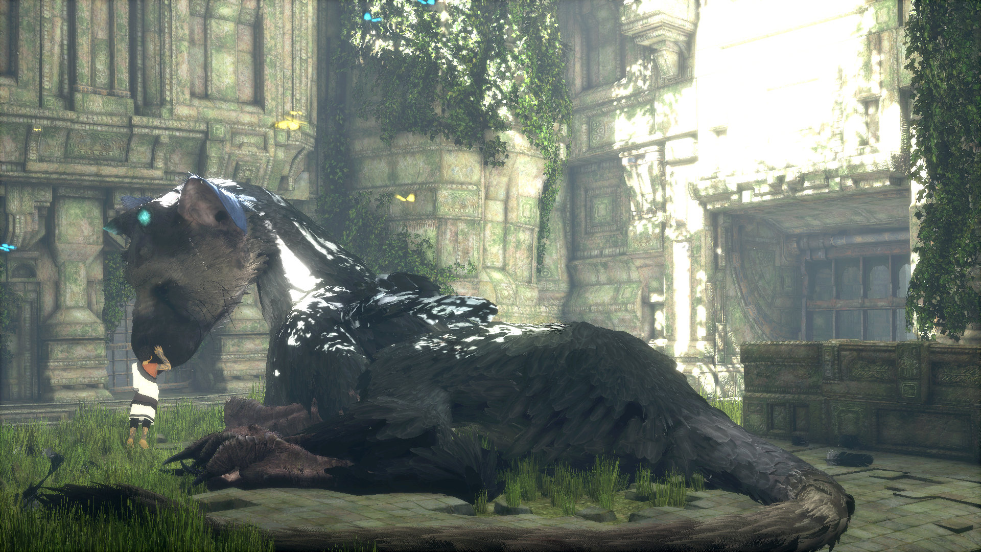 Nuevo gameplay de The Last Guardian