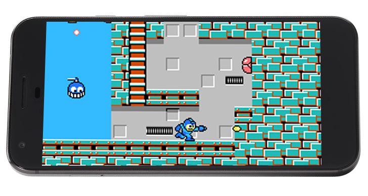 Megaman Llega a los Celulares