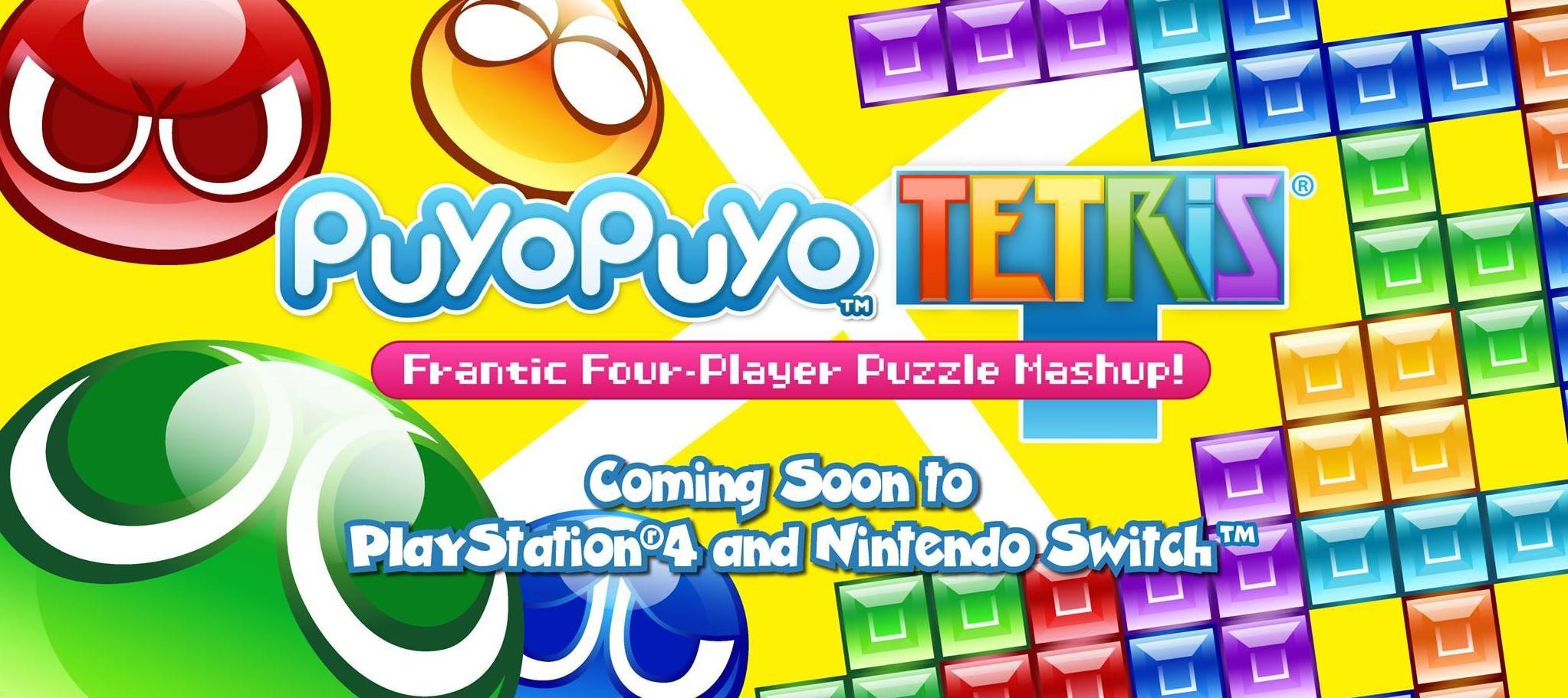 Puyo Puyo Tetris: fecha y plataformas anunciadas.