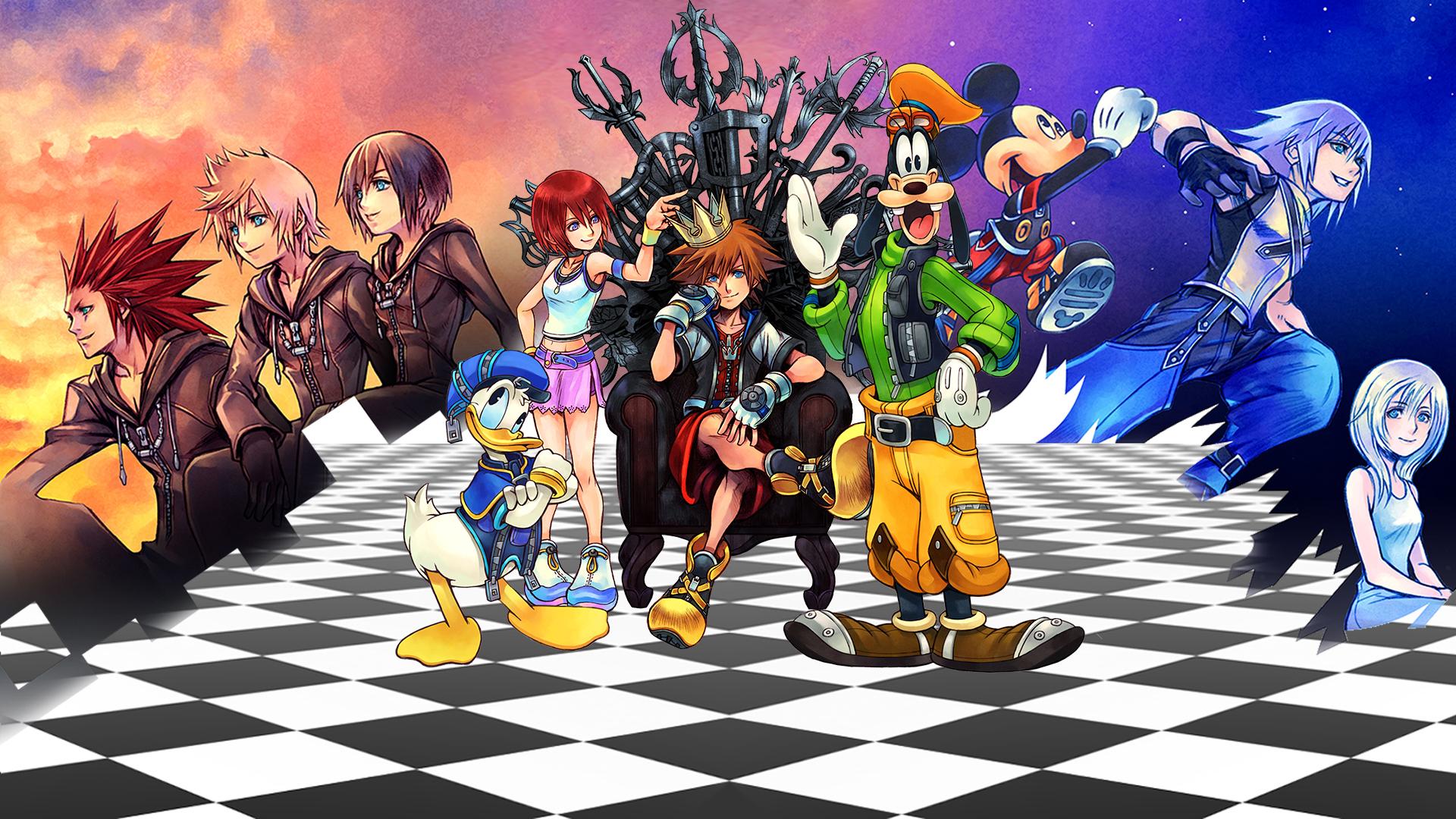 Kingdom Hearts Hd 1 5 2 5 Remix Revelado El Menu Para Elegir