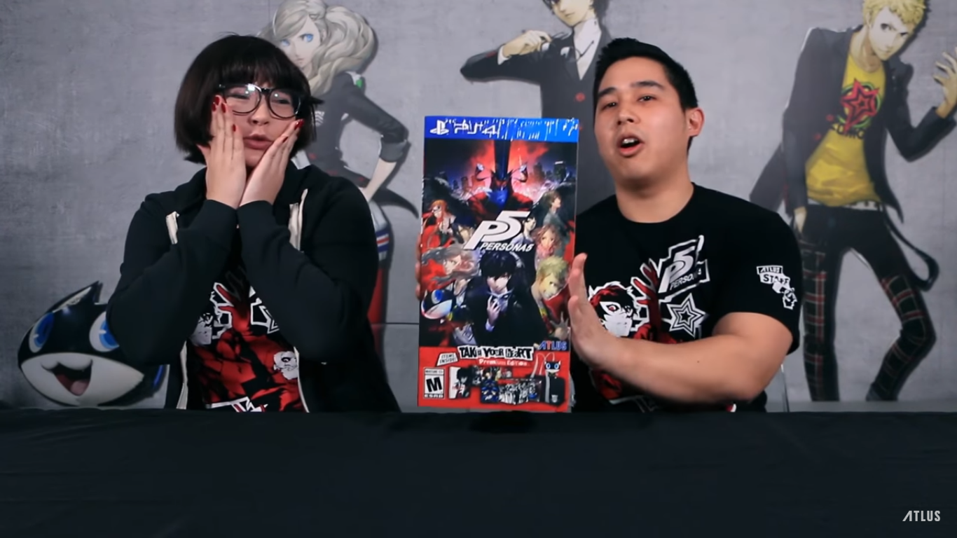 Persona 5 Take Your Heart Premium Edition Y Steelbook Home Noticias Unboxing
