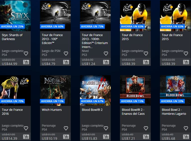 PlayStation Store ARGENTINA – Ofertas semanales Square Enix & Focus home publisher