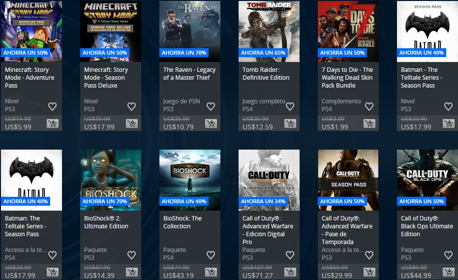 Ofertas Semanales ARG– Extended Play Sale