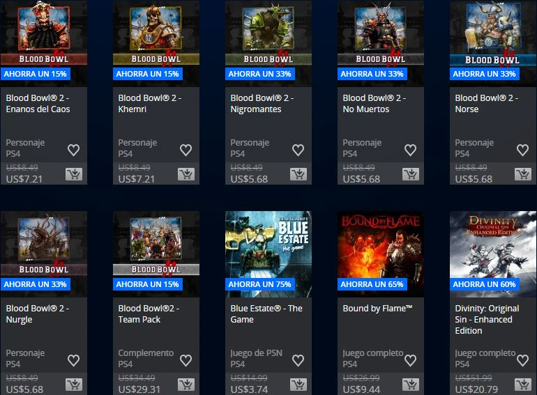 PlayStation Store Colombia - Promoción Square Enix & Focus home publisher