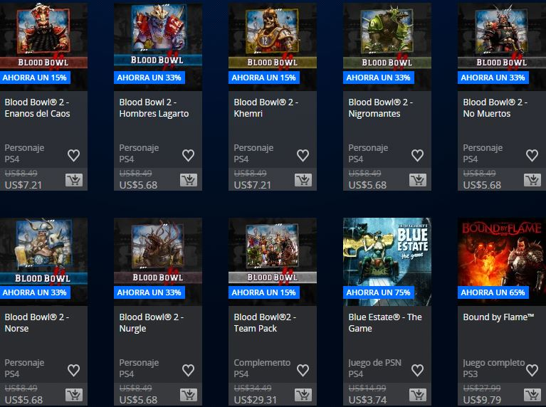 PlayStation Store Peru - Promoción Square Enix & Focus home publisher
