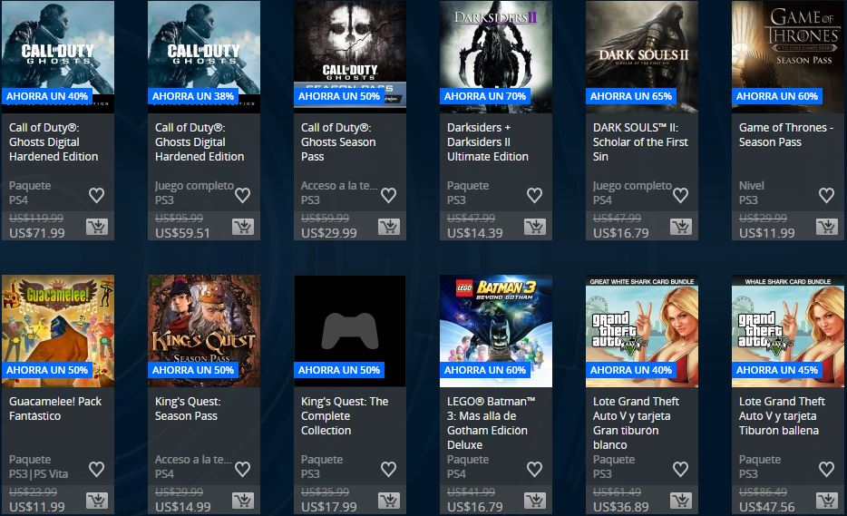 Ofertas Semanales ARG – Extended Play Sale