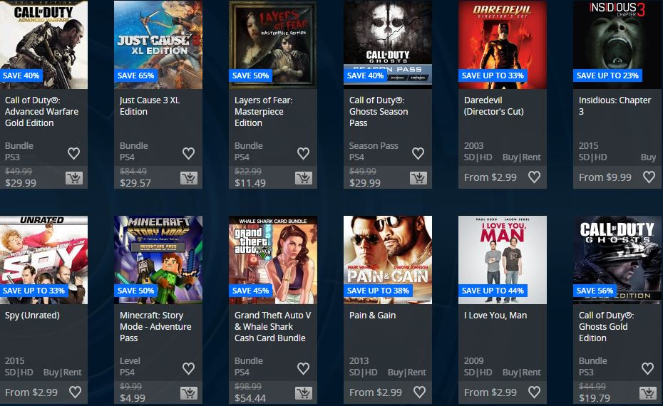 Ofertas Semanales USA – Extended Play Sale