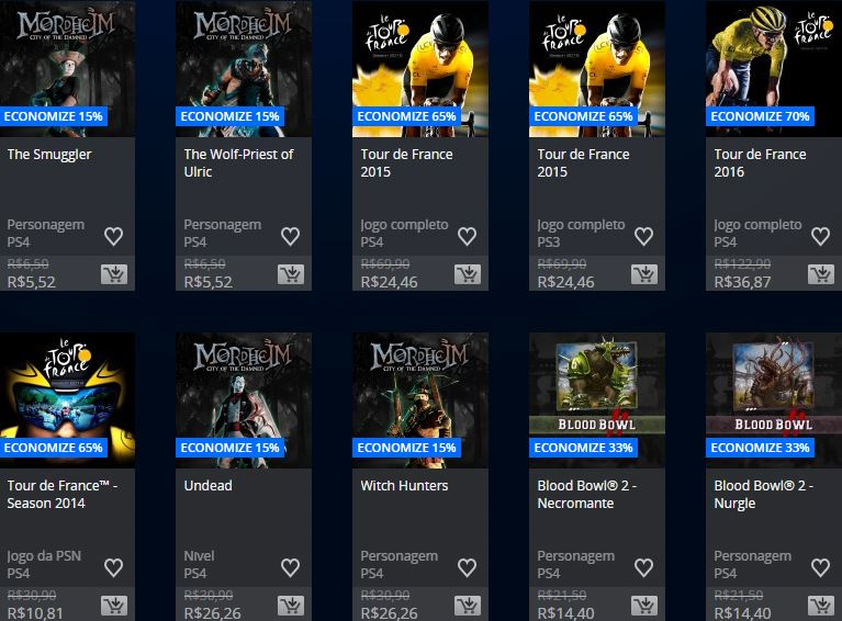 PlayStation Store promoção Square Enix & Focus home publisher