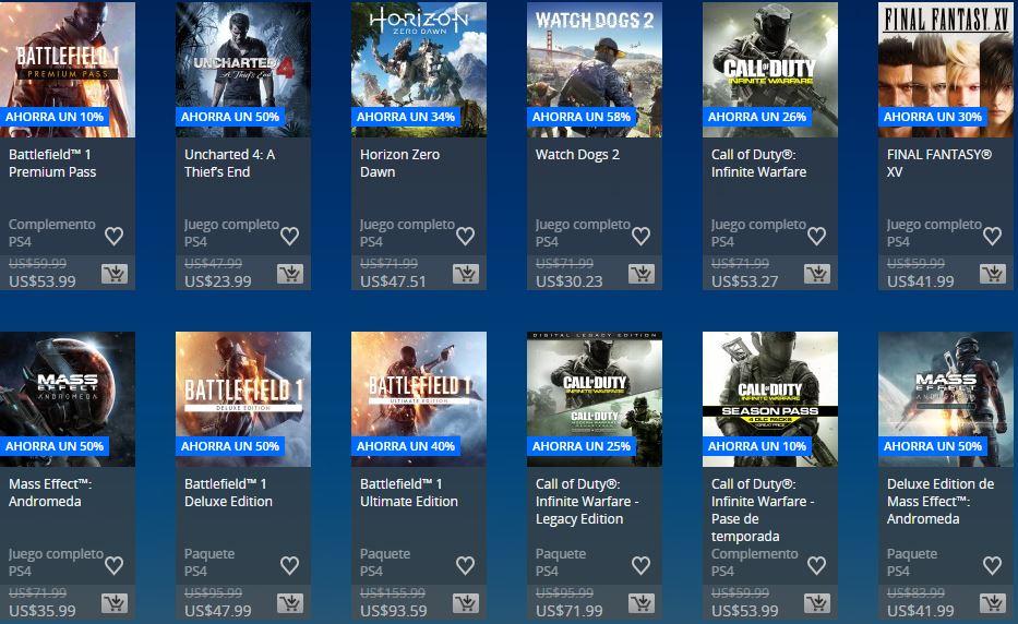 PlayStation Store - Días de Play Store Argentina