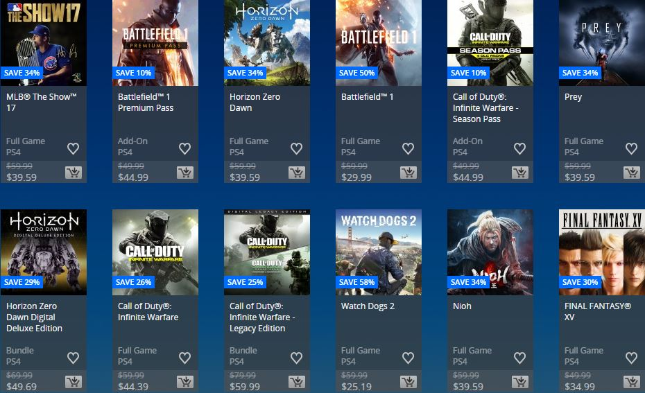 PlayStation Store - Days of play Store USA