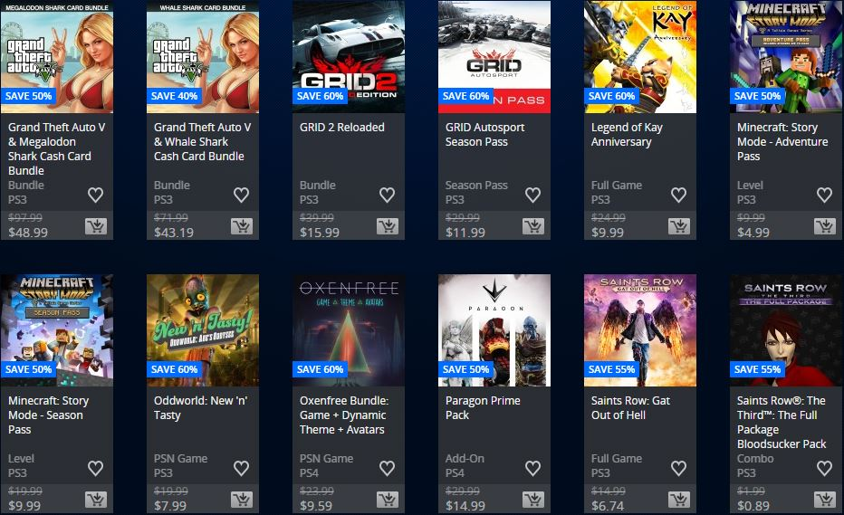 "Playstation Store - Store USA ""Ofertas Semanales"""