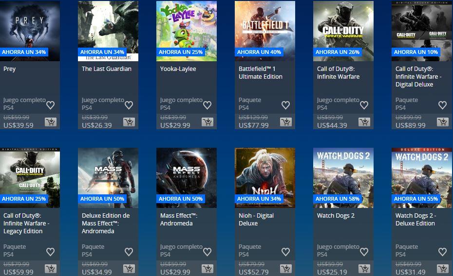 PlayStation Store - Días de Play Store México