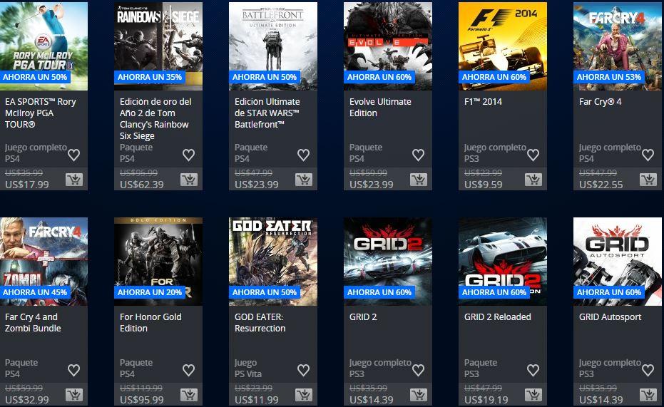 Ofertas Semanales - PlayStation Arg - Lo mejor de la E3