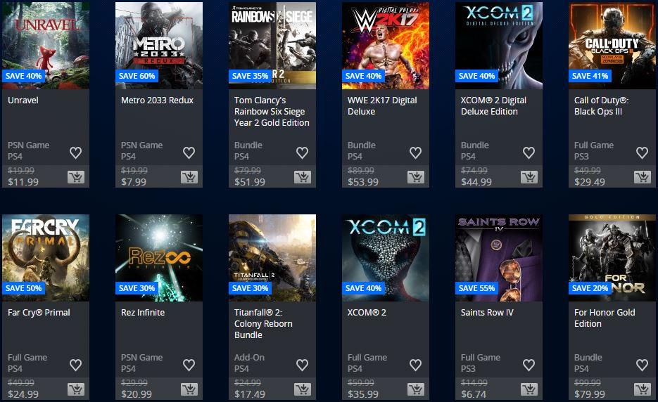 "Playstation Store - Store USA ""Ofertas Semanales"""