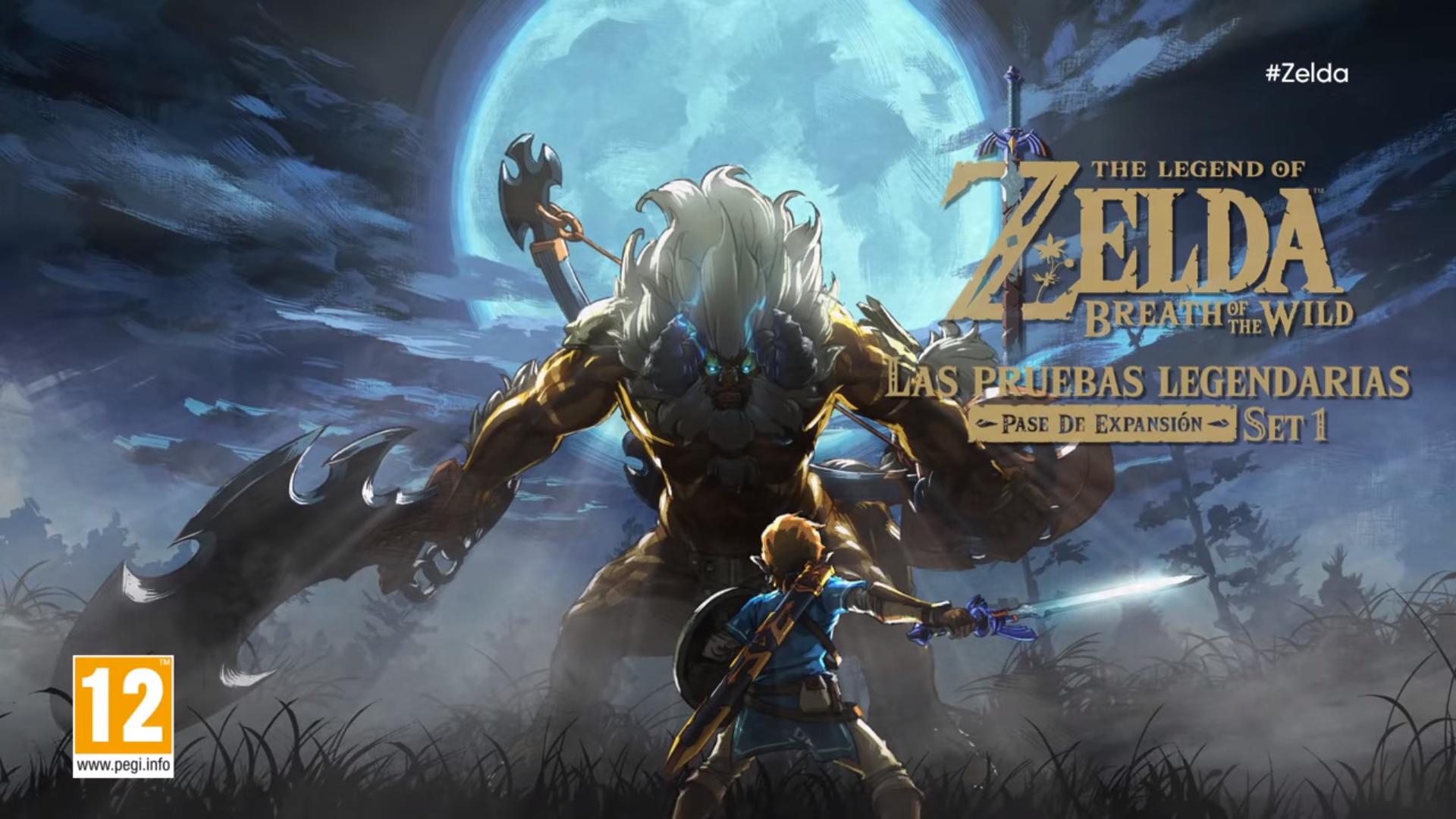 The Legend Of Zelda Breath Of The Wild Nuevo Dlc Para El