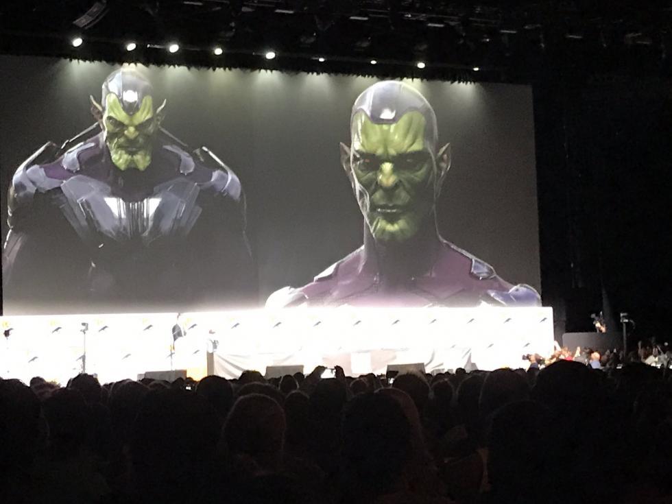 Los Skrulls serán los villanos en la película de Captain Marvel
