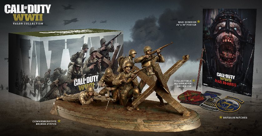 Call Of Duty WWII edicion Valor