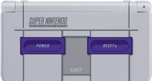 3DS XL tematica de SNES