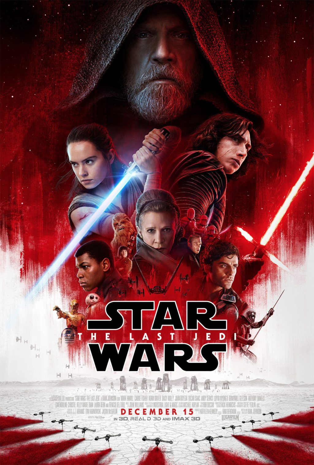 nuevo trailer de Stars Wars The Last Jedi