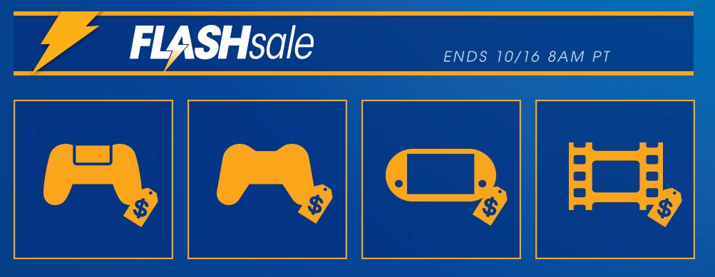 Flash Sale Octubre 2017