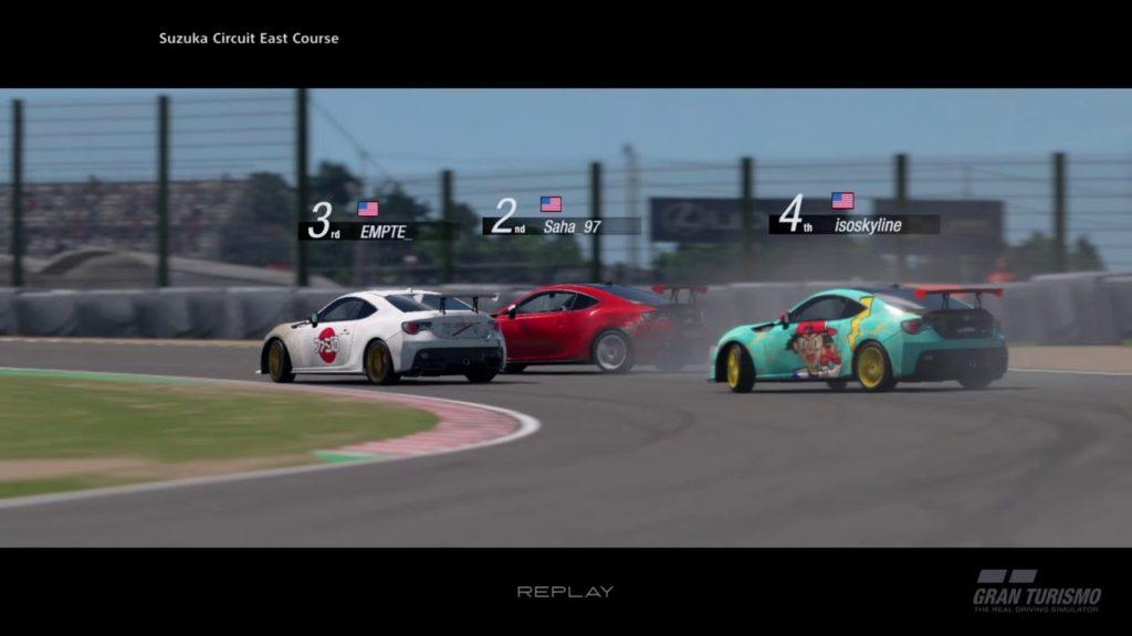 Carreras Drift Online en Gran Turismo Sport