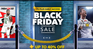 Ofertas PSN - Early Access Black Friday Sale