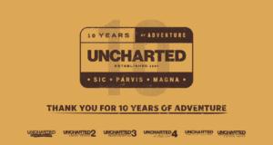 Naughty Dog celebra los 10 Años de Uncharted