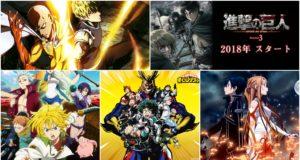 estrenos anime 2018