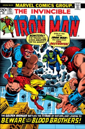 Iron Man # 55