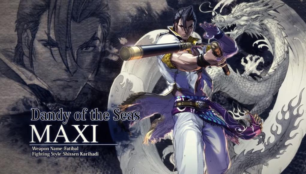 Maxi sera un personaje jugable en Soul Calibur VI