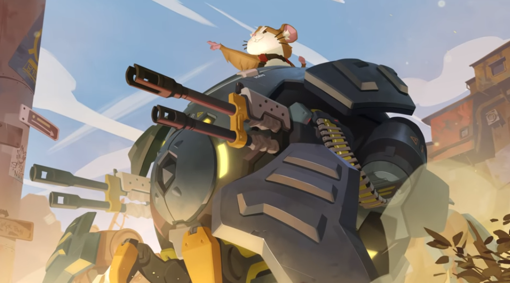 Wrecking Ball es el nuevo héroe para Overwatch