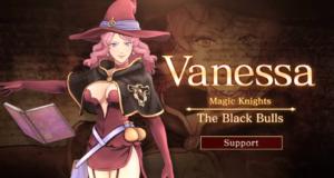 Vanessa protagoniza el nuevo trailer de Black Clover: Quartet Knights
