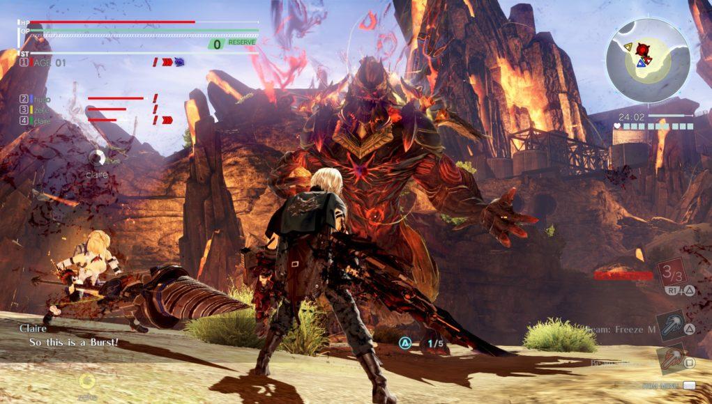 God Eater 3 tendrá misiones de asalto cooperativa para 8 jugadores