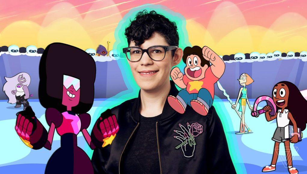 Rebecca Sugar en Argentina Comic-Con