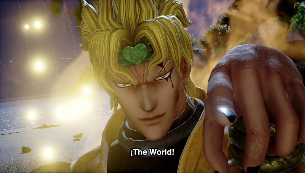 Jotaro y Dio