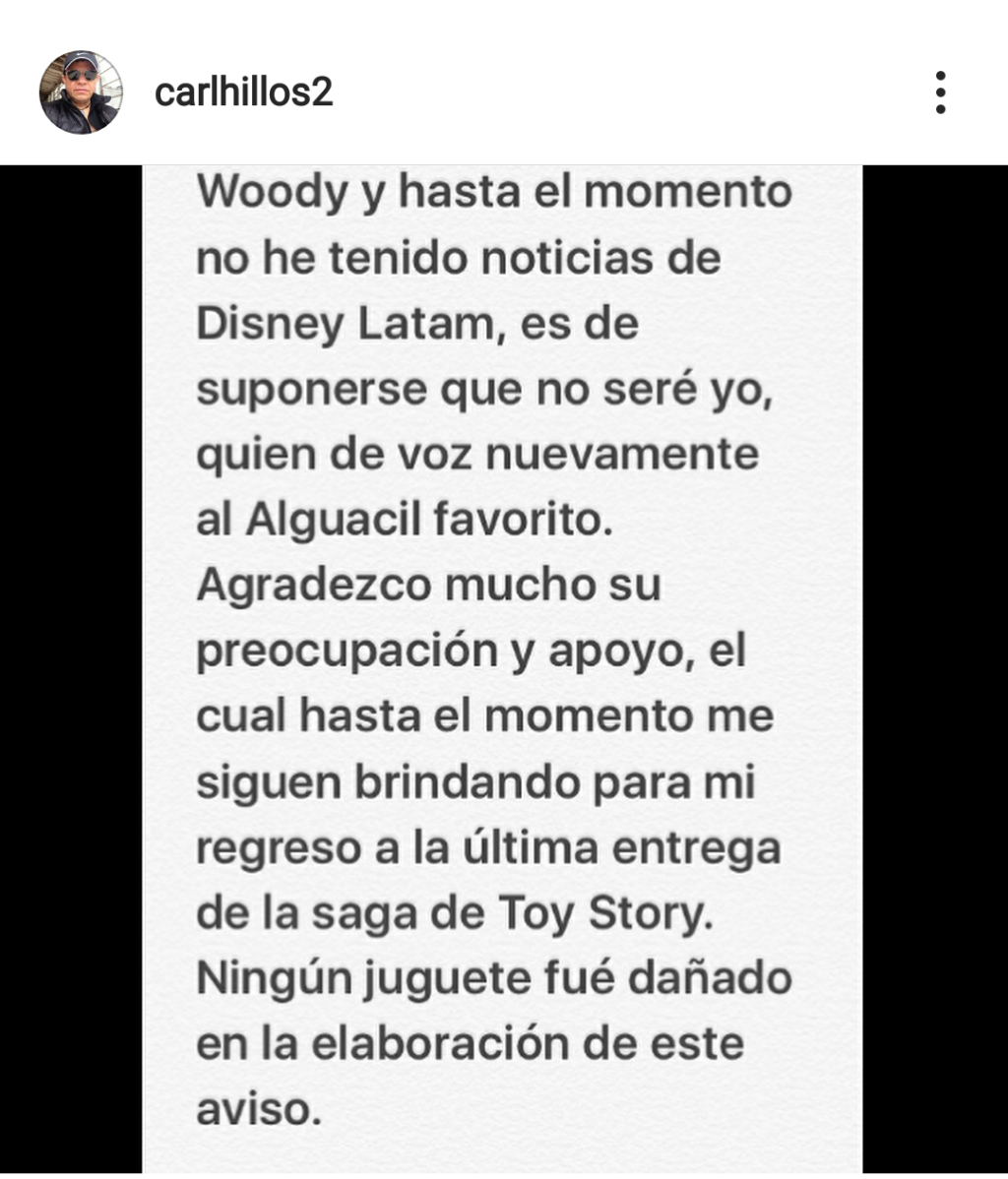 Woody español latino