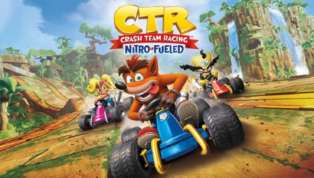 Crash Team Racing Nitro-Fueled le da la bienvenida al Neon Circus Grand Prix