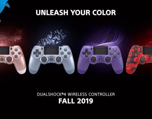 Sony presenta nuevos modelos de DualShock 4