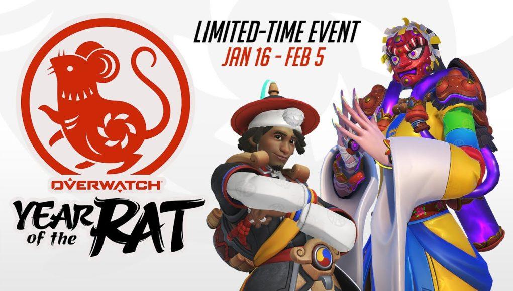 Ya empezó el año de la Rata en Overwatch