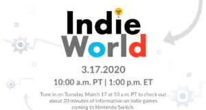 Anunciado un nuevo Nintendo Indie World Showcase