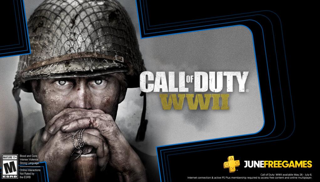 Call of Duty: WWII será uno de los juegos de PlayStation Plus de Junio 2020