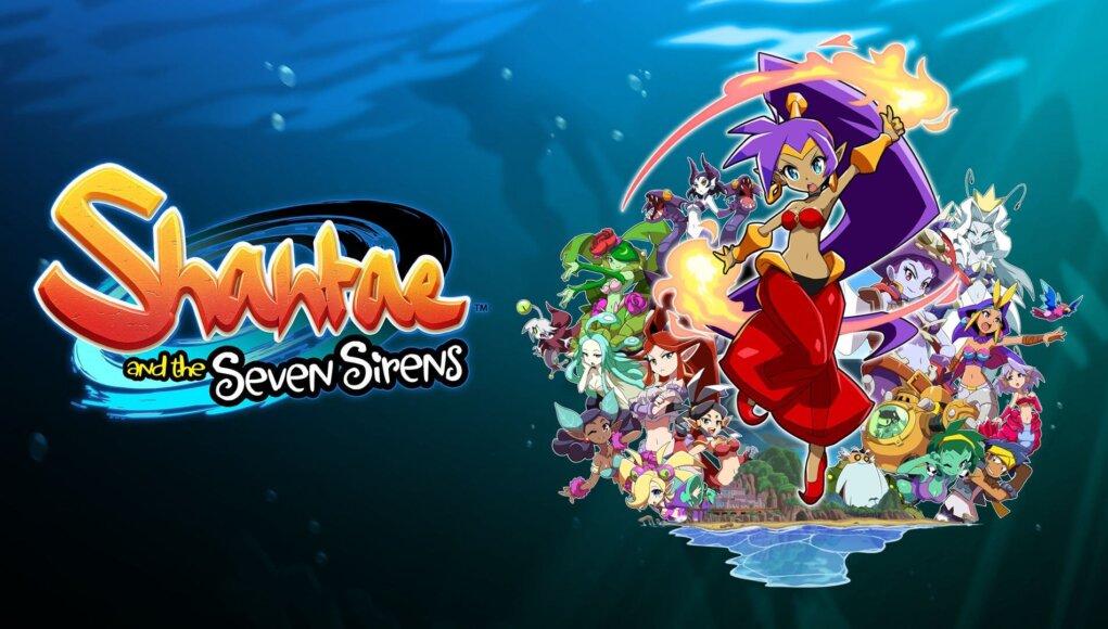Shantae and the Seven Sirens estrena trailer de lanzamiento