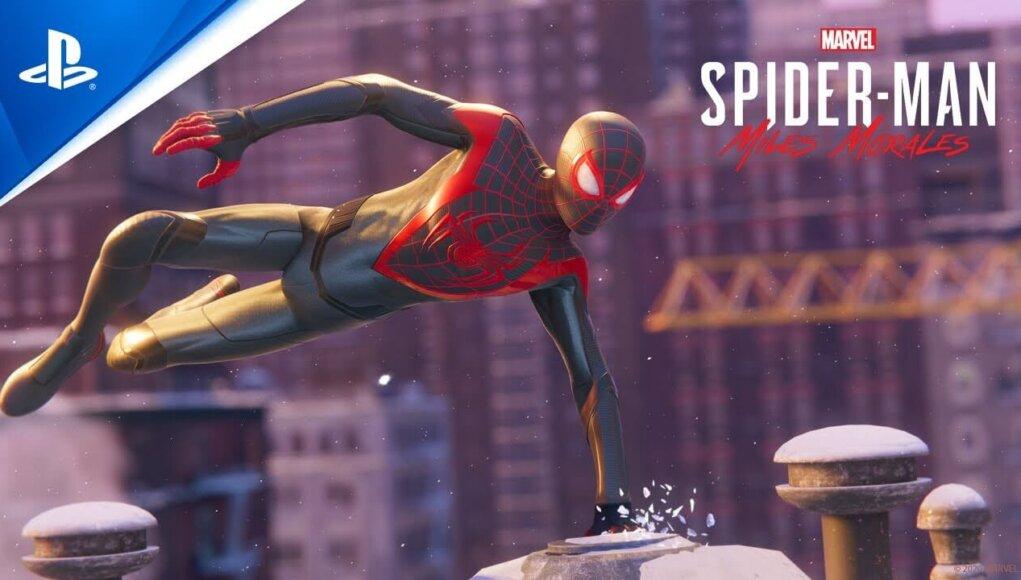Marvel's Spider-Man: Miles Morales estrena trailer de lanzamiento